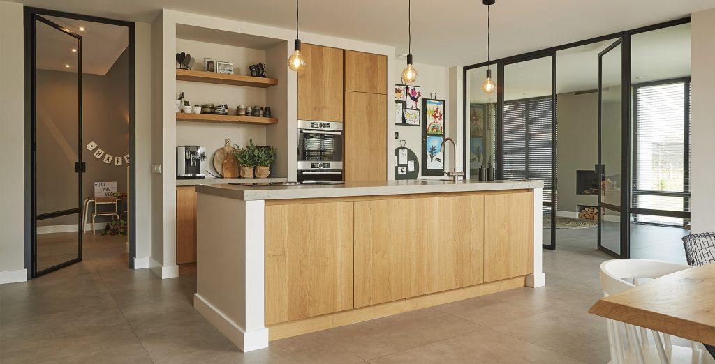 vhs luxe keuken beton tegel in en exterieur fotografie